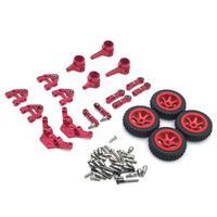 Leadingstar-wltoys-conjunto completo de acessórios para carros, acessórios de metal, para modelos 1/28, p929, p939, k979, k989, k999, k969, rc