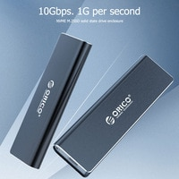ORICO PEM2-C3 M.2 SSD Mobile Gehäuse 10Gbps NVME Festplatte Externes Gehäuse Box HDD Fall mit USB Kabel Pouch neue