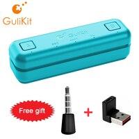 Gulikit NS07 Route Air Bluetooth Audio Adapter USB C Sender Für Nintendo Schalter/Lite PS4 PS5 PC In-spiel Voice-Chat