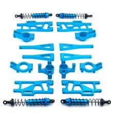 Wltoys-peças sobressalentes de metal para carrinhos 1:12, 12402-a, 12409 12402, controle remoto, copo de direção, dianteiro, traseiro, amortecedor, braço oscilante