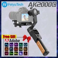 FeiyuTech AK2000C 3 Axis Camera Stabilizer Gimbal DSLR Handheld VLOG Shooting For Camera Lumix Canon Sony Nikon Panasonic Fuji