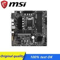 Für MSI Z590M BOMBER motherboard Sockel LGA 1200 M.2 NVme USB 3,0 Z590 Verwendet Desktop motherboard 10100F 10400F 10700K