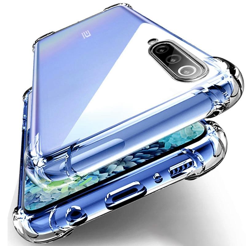 Funda de teléfono sencilla a la moda para Huawei, funda transparente de TPU con cuatro esquinas, resistente, Airbag a prueba de golpes, para modelos Nova 6, SE, 7I, 5, 5I, 5Z, 5T Pro