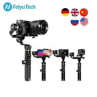 FeiyuTech G6 Plus 3-Axis G6 Max Handheld Gimbal Stabilizer for Mirrorless Camera GoPro Smart phone Payload 800g Feiyu G6P