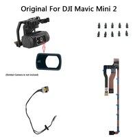 Original Neue DJI Mini 2 Teil-3 in 1 Flache Kabel Gimbal Gummi Kamera Objektiv Glas PTZ Signal Linie übertragung Flex Draht Auf Lager