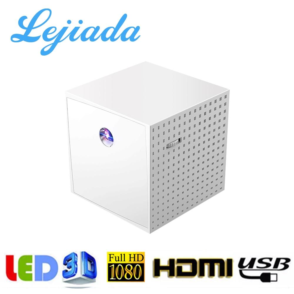 LEJIADA-miniproyector portátil DLP S1 S201, pantalla con cable de sincronización de 2000 lúmenes para cine en casa, 1080P, con HDMI, USB, TF