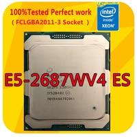 E5-2687WV4 ES Intel Xeon E5-2687WV4 ES Version 2,9 GHZ 12-Kerne 30M Smart Cache CPU Prozessor LGA2011-3 Für x99 Motherboard