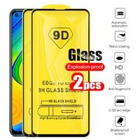 9D Full Gule Protective Glass Redmi Note 9 Glass For Xiaomi Redmi Note9 Note 9 Not9 Screen Protector Film Xiomi Xaomi 6.53