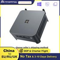 10th Gen Xeon W-10885M Core i9 10980HK Intel Mini PC 2 Lans Windows 10 2 * DDR4 2 * NVMe gaming Computer DP HDMI Typ-C 3x4K Display