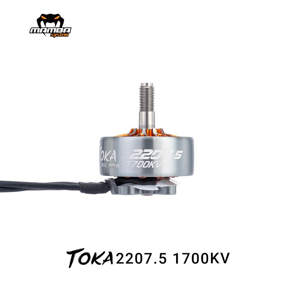 DIATONE MAMBA TOKA 2207,5 1700KV 1800KV 2450KV 2650KV 3-6S Motor Brushless para FPV Racing romaníes F5 2019 GTR569 RC Drone