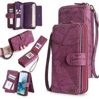 財布レザー電話ケースiphone 6 6s 7 8プラスx xs xr xsmax 11 11Pro 11プロマックス12プロマックス磁気財布ビジネス財布