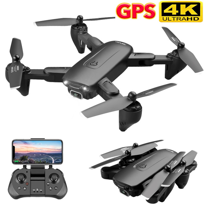 Dron con cámara 4K F6, GPS, HD, FPV, con Follow Me, 5G, WiFi, flujo óptico, plegable, RC, Quadcopter profesional