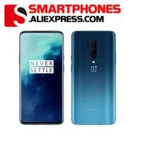 Globale ROM OnePlus 7T Pro 8GB 256GB Snapdragon 855 Plus SmartPhone 6.67 ''Flüssigkeit AMOLED 90Hz bildschirm 48MP Kamera 4085mA UFS 3,0