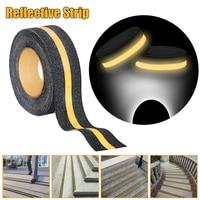 5M Floor Safety Luminous Strip Reflective Strip Non Skid Tape Adhesive Anti Slip Adhesive Stickers High Grip