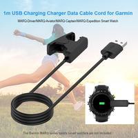 1m USB 충전기 데이터 케이블 코드 Gar MA RQ 드라이버/MA RQ-A Viator/MA RQ-캡틴/MA RQ 탐험 스포츠 스마트 워치