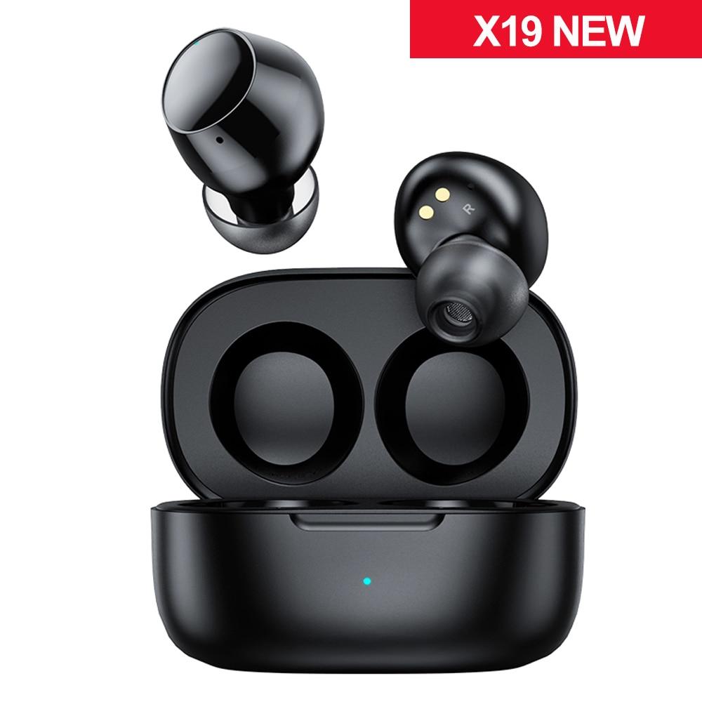 Mifa-auriculares inalámbricos X19 TWS, por Bluetooth 5,0, Auriculares deportivos con cancelación de ruido, resistentes al agua