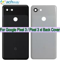 Original Google Pixel 3 xl Batterie Abdeckung zurück glas Tür Hinten Glas Gehäuse Fall 6.3