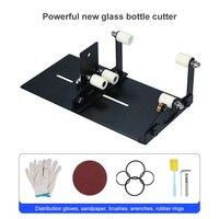 새로운 유리 병 커터 도구 전문 병 절단 유리 병-커터 조정 가능한 DIY 절단 기계 와인 맥주