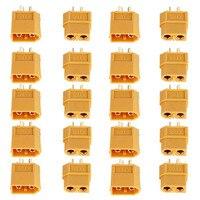 20PCS 10 Pairs XT60 Männlich-weibliche Kugel Anschlüsse Stecker Für RC Lipo Batterie
