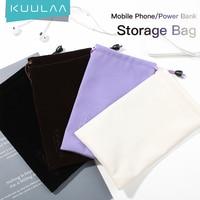 KUULAA – étui étanche pour batterie portable, pochette de rangement pour téléphone portable, pour iPhone Samsung Xiaomi Huawei