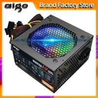 Aigo AK600 Max 600W Netzteil NETZTEIL PFC Silent Lüfter ATX 24pin 12V PC Computer SATA Gaming PC netzteil Für Intel AMD Computer