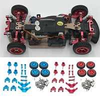 Kit de peças de metal para drift-wltoys p929 p939 k969 k979 k989 k999 1/28 rc