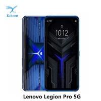 Globale Rom Lenovo Legion pro Snapdragon 865 + Octa Core 5G Gaming Smartphone 6.65