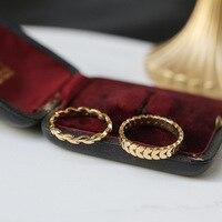 MODAGIRL-여성용 쥬얼리 2.8mm 3.8mm 골드 밀 손가락 반지, 스테인레스 스틸 스태킹 링, 2020 베스트 셀러 제품, 드롭 배송