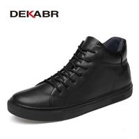 Dekabr 2020 뜨거운 판매 새로운 도착 수제 패션 남자 부츠 클래식 블랙 겨울 가을 부츠 정품 가죽 따뜻한 발목 부츠