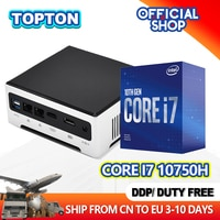 Günstige 10th Gen Mini Pc Intel Core i9 10880H 9880H 2 * M.2 2280 NVMe Windows 11 Pro gaming Desktop-Computer 2 * DDR4 4K HTPC mini pc