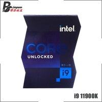 Intel Core i9-11900K i9 11900K 3,5 GHz Acht-Core Sechzehn-Gewinde CPU Prozessor 16M 125W LGA 1200 Benötigen H410 B560 Z590 Motherboard