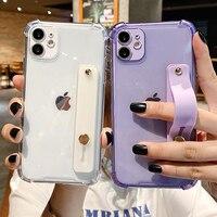 IPhone用耐衝撃電話ケース,iPhone 12 11 13 pro max xr xs max 7 8 plus x xs 11pro SE 2020用クリア耐衝撃ケース