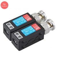 10 Pairs 8MP Tragbare Passive Video Balun Bnc-stecker Übertragung Gespleißt Transceiver Für 2MP 5MP 8MP CCTV Kamera
