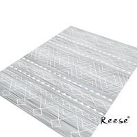 Reese Classic And Plain Decoration Area Rug Vintage Stripe Printed Carpets For Living Room Bedroom Restaurant Anti Slip Bottom