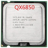 Intel Core 2 Extreme QX6850 3,00 GHz 8MB 1333MHz CPU LGA775 (arbeits 100% Freies Verschiffen)