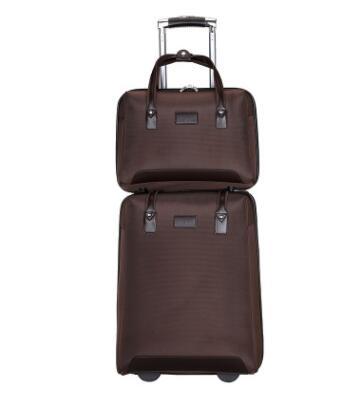 Kabine gepäck koffer trolley mit rädern Frauen Roll Gepäck Taschen tragen auf gepäck Rädern taschen für Reise Trolley taschen