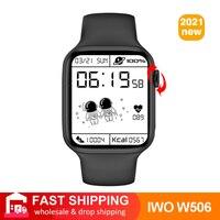 2021 Smart Uhr IWO 13 Lite W506 44mm 40mm Full Touch Bluetooth Anruf Drahtlose Lade Männer Frauen Smartwatch PK W26 Pro W56 5