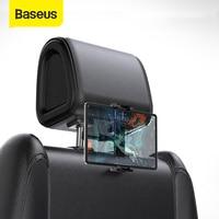 Baseus רכב מושב אחורי משענת ראש הר מחזיק עבור iPad 4.7-12.9 אינץ 360 סיבוב אוניברסלי Tablet PC אוטומטי רכב מחזיק טלפון Stand
