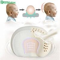 PurenLatex Natural Latex Baby Nursing Pillow Multi-Function Shaping 0-3 Year old Newborn Infant Prevent Flat Head Orthopedic