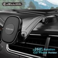 Jellico אוניברסלי מגנטי רכב מחזיק טלפון נייד תא אוויר Vent הר מגנט GPS לעמוד במכונית עבור iPhone 12 11 X סמסונג Xiaomi