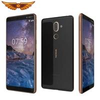 Original Nokia 7 Plus 6,0 Zoll Octa-core 4GB RAM 64GB ROM 13MP Dual Kamera Dual SIM LTE Fingerprint Android Entsperrt Handy