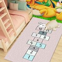 Baby Crawling Non-slip Mat, Small Rug, Baby Interactive Early Education Math Rug Lovely Jumping House Carpet Slip Mat Decor #36