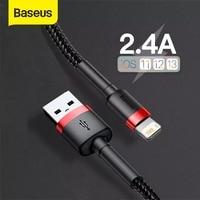 Baseus USB Kabel für iPhone 12 11 Pro Max 8 X XR Schnelle Ladung für iPhone Kabel USB Daten Sync kabel Telefon Ladegerät Kabel Draht Kabel