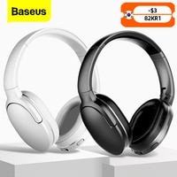 Baseus D02 Pro Drahtlose Kopfhörer Sport Bluetooth 5,0 Kopfhörer Headset Ohr Knospen Kopf Telefon Earbuds Für iPhone Xiaomi