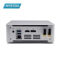 HYSTOU neueste Mini Gaming PC M4 Quad Core Intel i5 7300HQ i7 7820HK Typ-C DP HDMI 4k thin Client Micro Computer