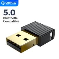 ORICO Wireless USB Bluetooth-Kompatibel Dongle Adapter 4,0 5,0 Mini Musik Audio Receiver Transmitter für PC Lautsprecher Maus Laptop