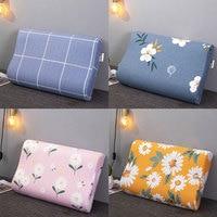 Durable Zipper Printed Pillowcase Comfortable Memory Pillow Case Creative Soft Slowly Rebound Memory Foam Pillow Cases