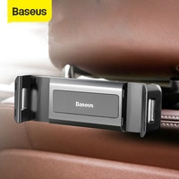 Baseus רכב מושב אחורי מחזיק טלפון 360 ° סיבוב מתקפל Stand עבור 4.7-12.3 אינץ Tablet Ipad טלפון הר אוטומטי מושב אחורי תמיכה