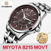 STARKING Luxury Brand Men Mechanical Watch Japan Movt Automatic Self-wind Wristwatch For Male Waterproof Calendar Clock Relogio