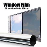 60, 90cm 창 필름 편도 거울 절연 태양 색조 창 스티커 UV 반사 개인 정보 보호 장식 필름 색조 개인 정보 보호